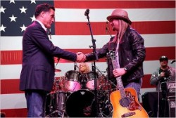 Mitt Romney and Kid Rock
