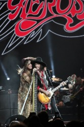 Aerosmith In Concert - Steven Tyler and Joe Perry