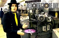 Jack White - Record Pressing
