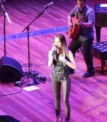 Brynn Marie In Concert - Ryman Auditorium Nashville, TN
