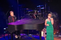 Michael W Smith and Missy Robertson (Duck Dynasty) performs at the K-Love Fan Awards