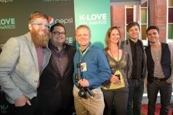 Mike and Sandra with Sidewalk Prophets