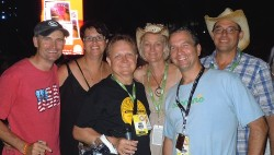 Fans From Australia - CMA Music Festival 2013