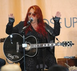 Wynonna Performing Acoustic Set - CMA Music Festival 2013