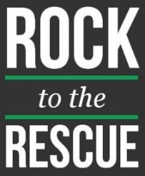 Rock To The Rescue Logo