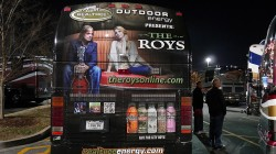 The Roys' Tour Bus