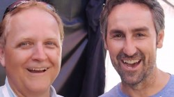 Mike Arnold (Concert Blast) and Mike Wolfe (American Pickers)