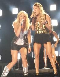 2014 CMA Music Festival - Miranda Lambert with guest Carrie Underwood