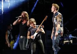 Keith Urban with Florida-Georgia Line - 2014 CMA Music Festival