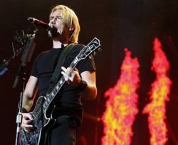 Nickelback In Concert - Chad Kroeger
